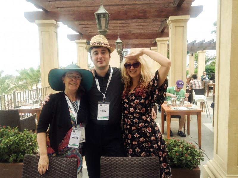 Lina Lamon, Ilya Baykin and Laura Jade